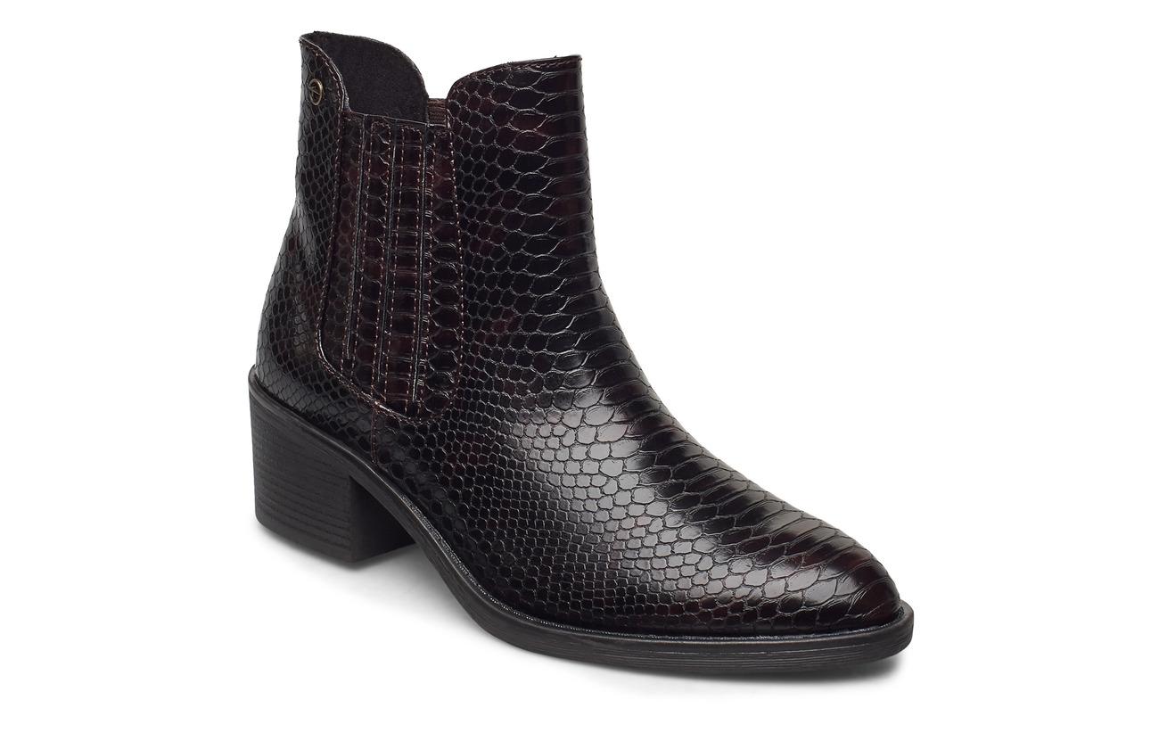 Tamaris Woms Boots - MAHOGANY SNAKE