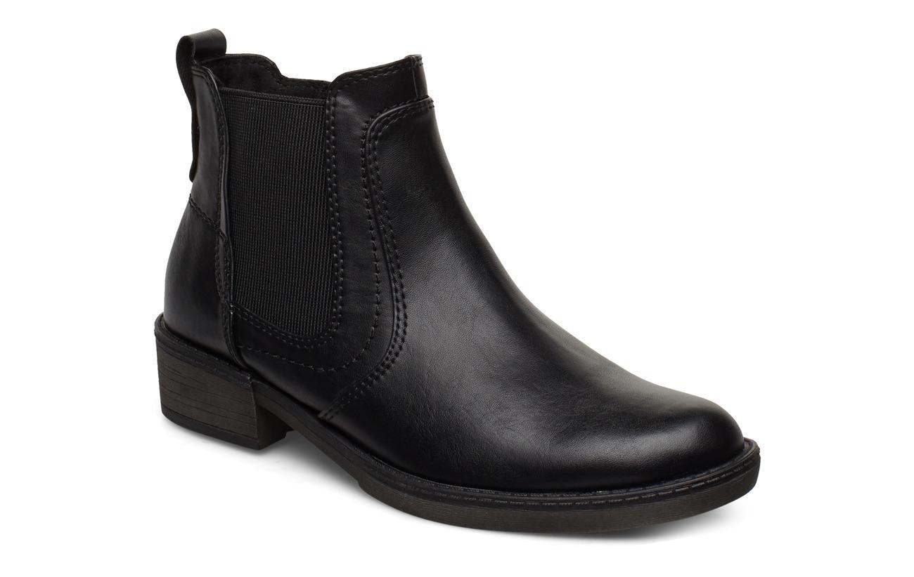 Tamaris Woms Boots - BLACK UNI