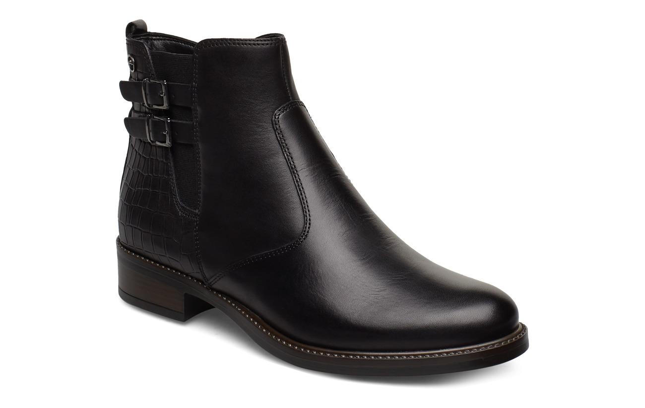 Tamaris Woms Boots - BLACK/ STR.