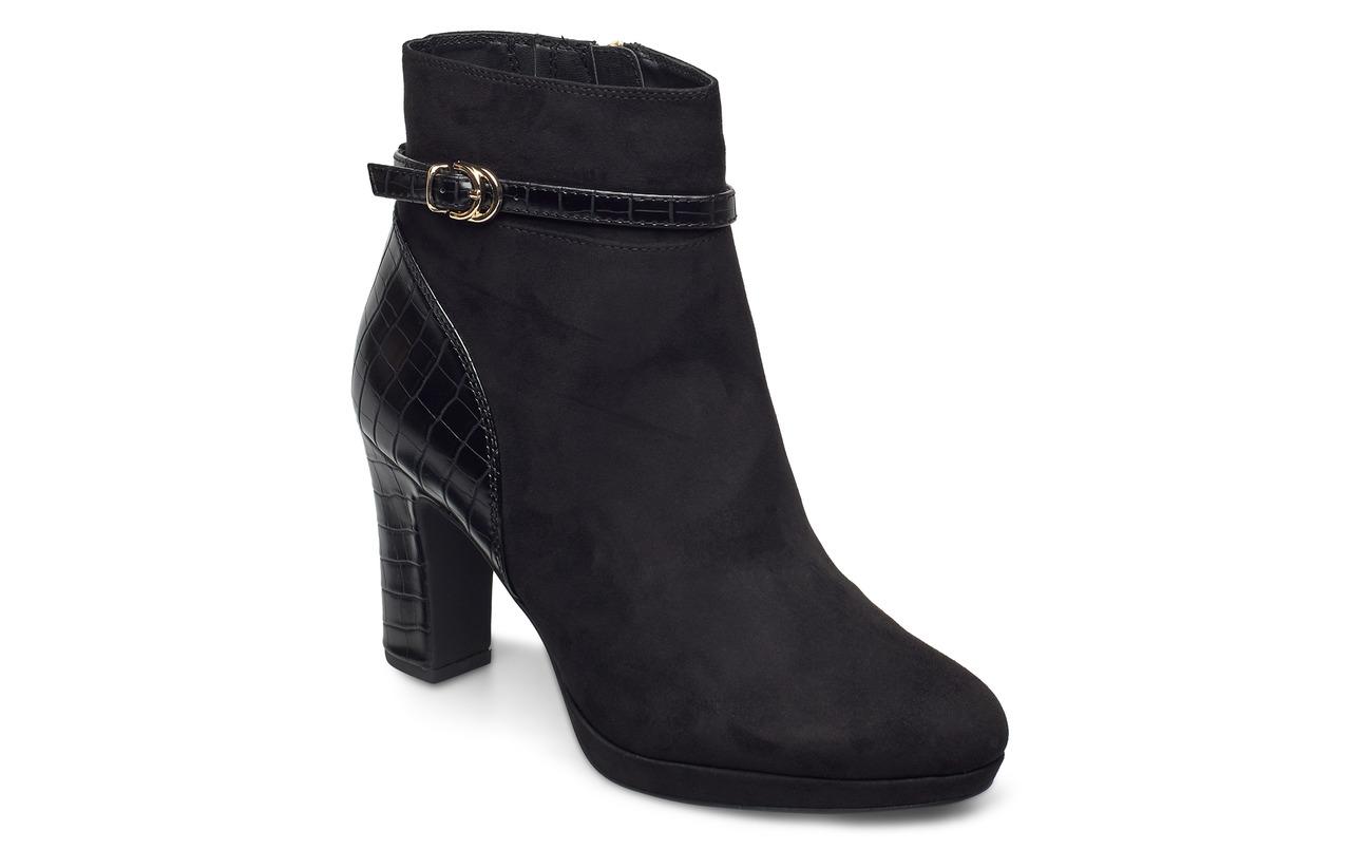 Tamaris Woms Boots - BLACK COMB