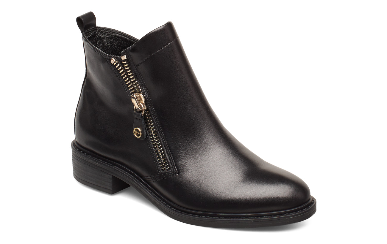 Tamaris Woms Boots - BLACK/GOLD