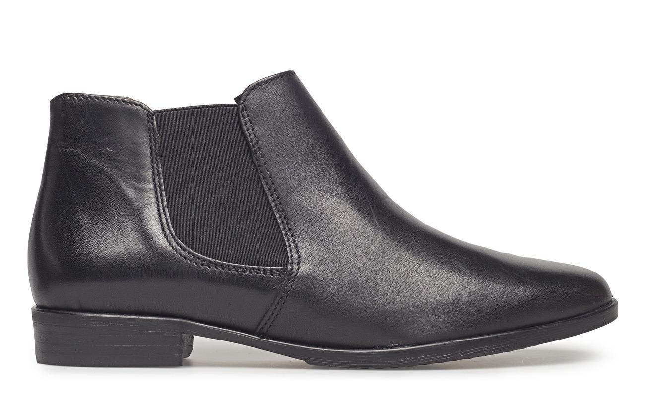 Empeigne Cuir Black Boots Woms Tamaris Synthetic Leather Extérieure Semelle 6xqIPc4Cw