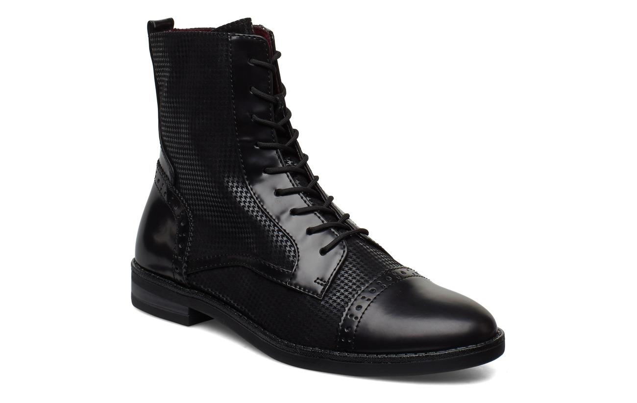 Tamaris Woms Boots - BLACK STR.COMB