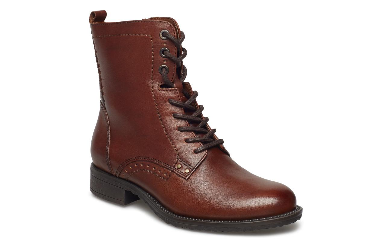 Empeigne Dark Olive Semelle Extérieure Cuir Tamaris Woms Boots Synthetic 1EqwtZI