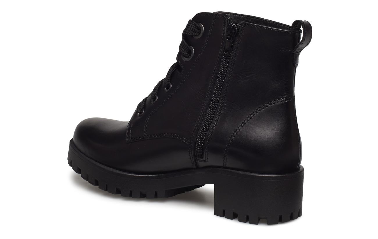 Cuir Empeigne Tamaris Boots Black Synthetic Woms Semelle Extérieure CwxqpItx