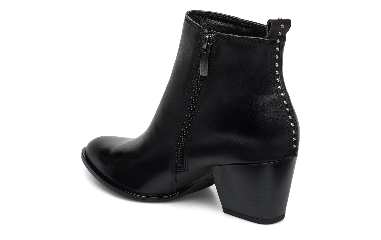 Tamaris Woms Boots (Black Leather)