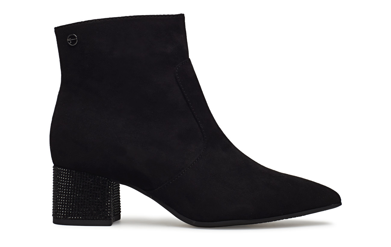 Woms Boots Tamaris Black Extérieure Synthetic Semelle Textile Empeigne AqdqBC