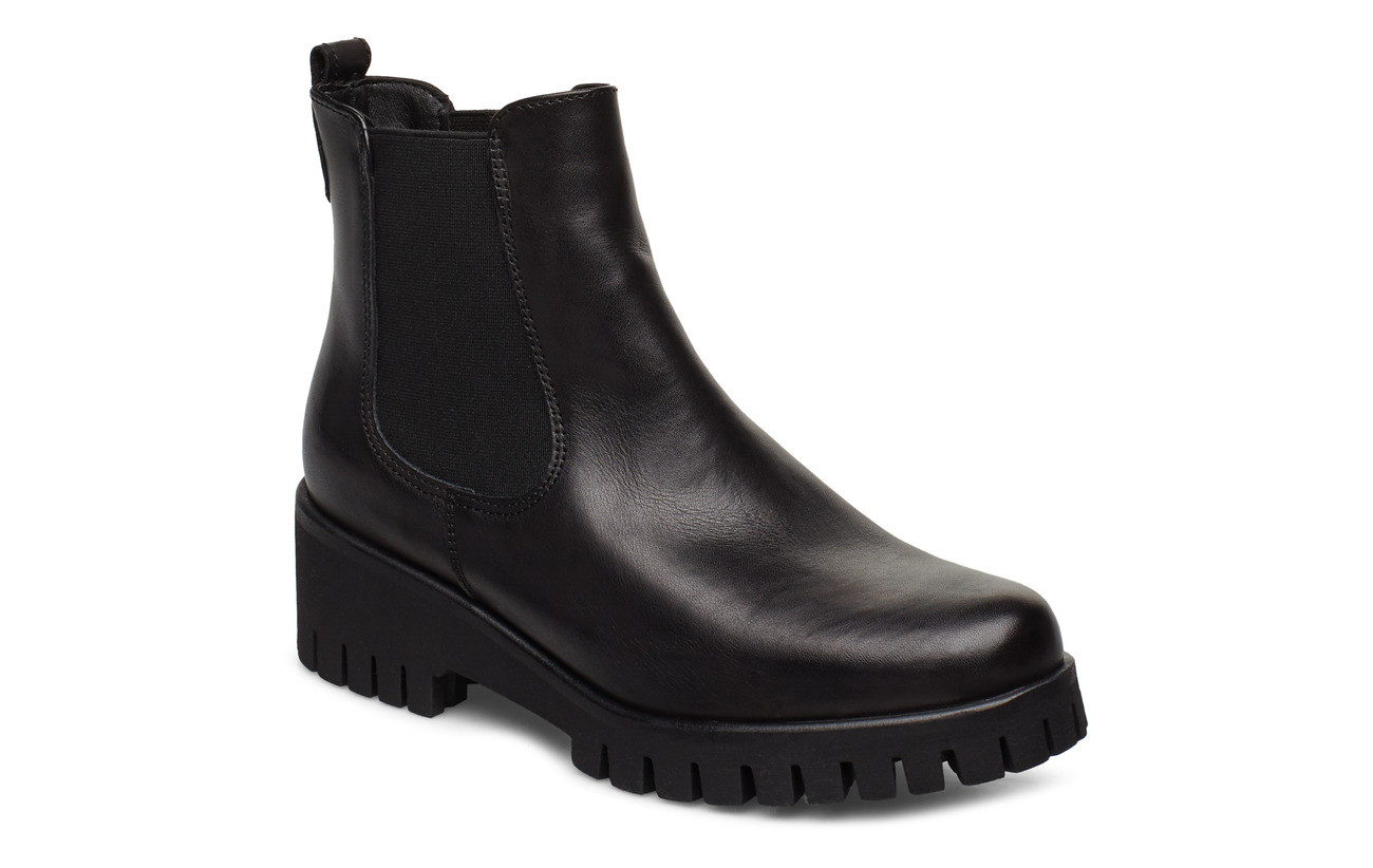 Tamaris Woms Boots - BLACK LEATHER