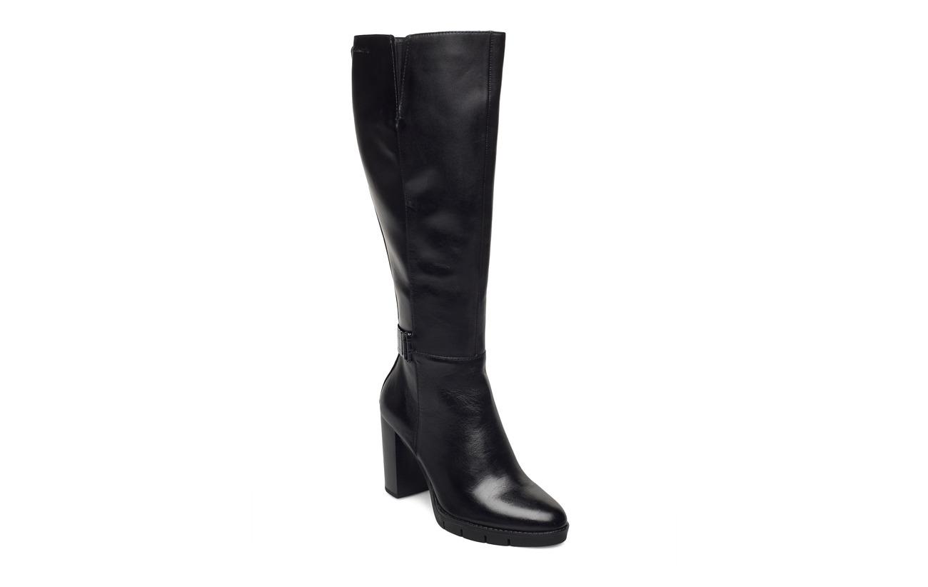 Tamaris Woms Boots - BLACK/CROCO