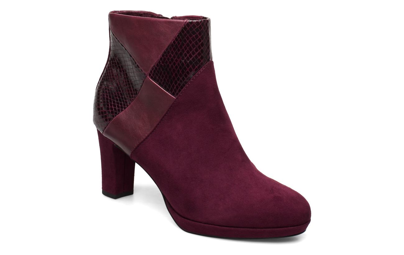 Tamaris Boots - MERLOT COMB