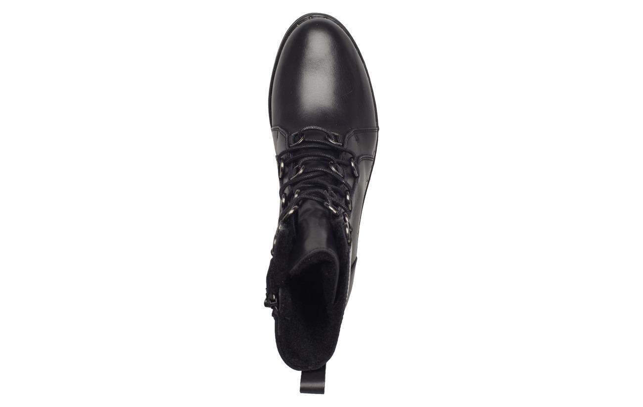 Cuir Semelle Extérieure Tamaris Black Empeigne Synthetic Woms Boots PwnwXqvIp