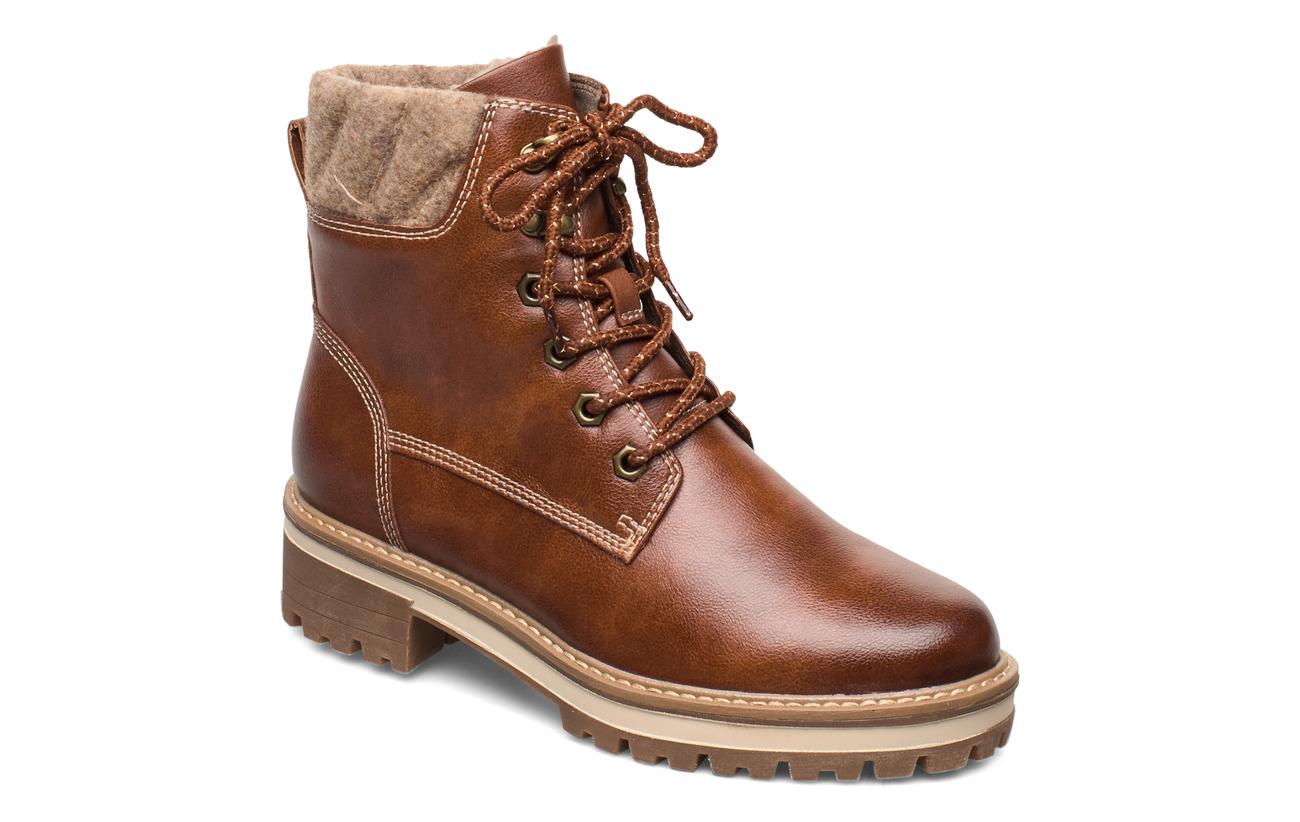 Tamaris Woms Boots - COGNAC