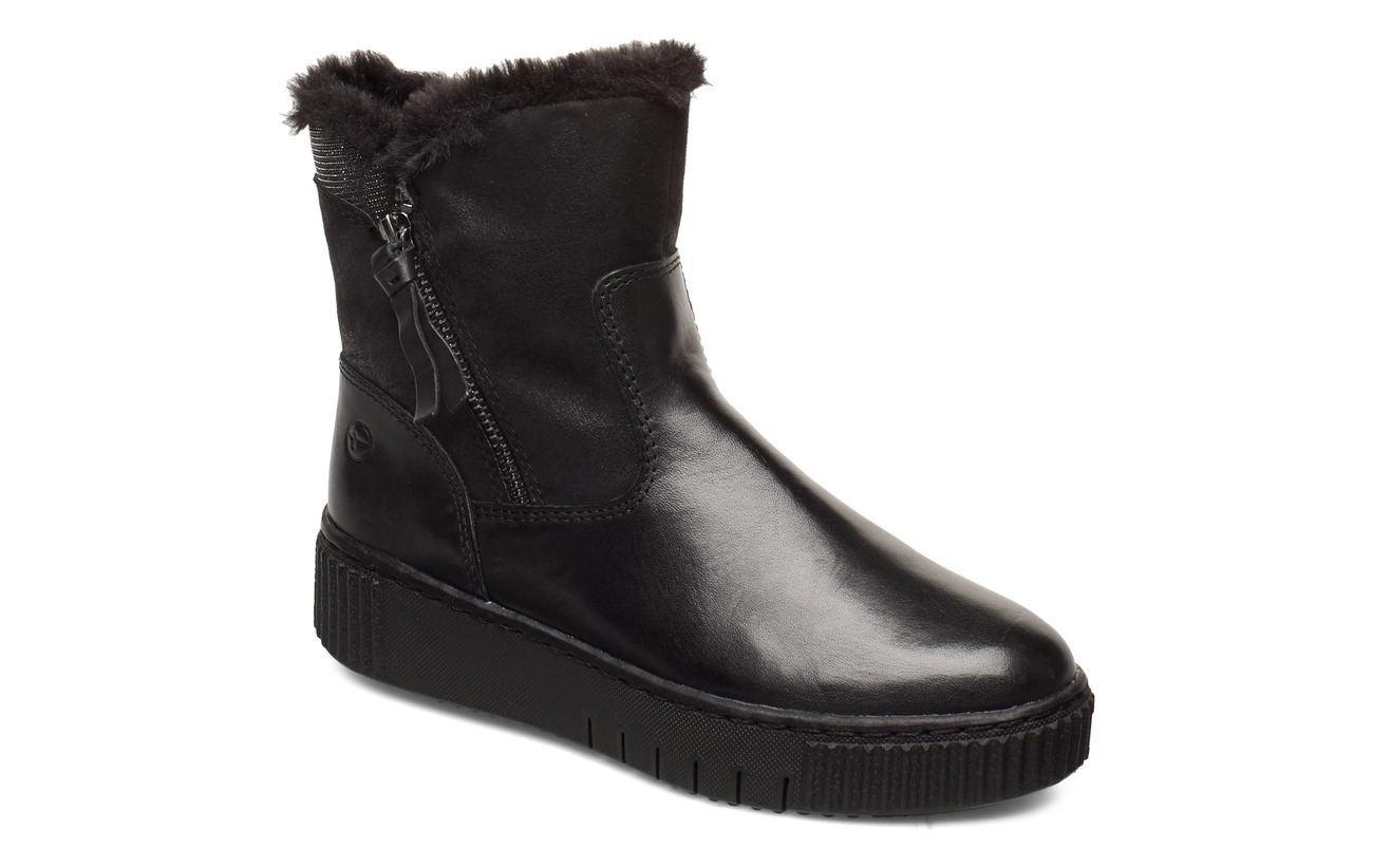 Tamaris Woms Boots - BLACK/NO STUDS
