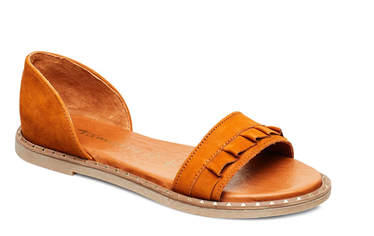 Tamaris Woms Sandals - COGNAC