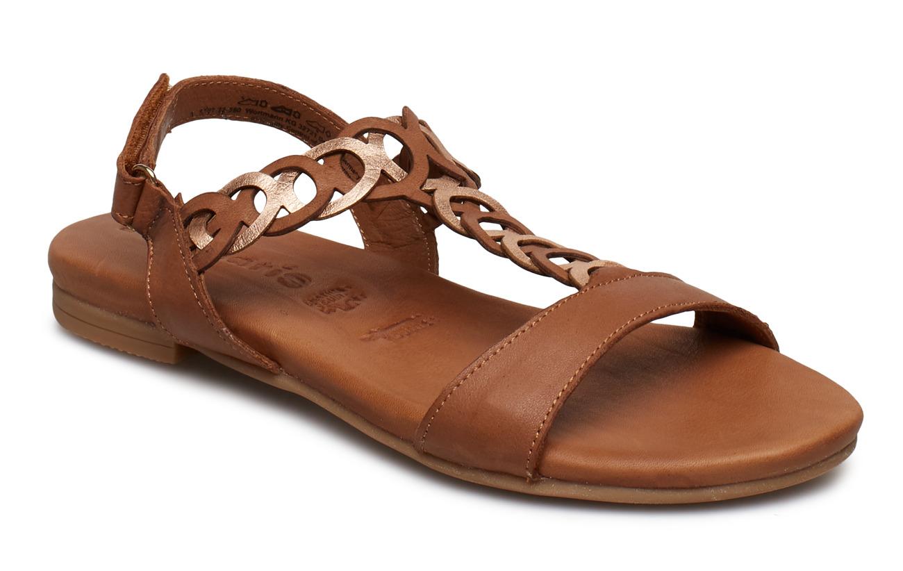 Tamaris Woms Sandals - COGN./ROSE MET