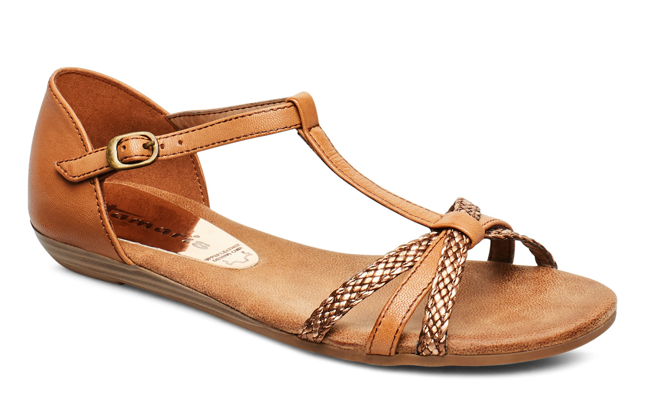 Tamaris Woms Sandals - NUT COMB