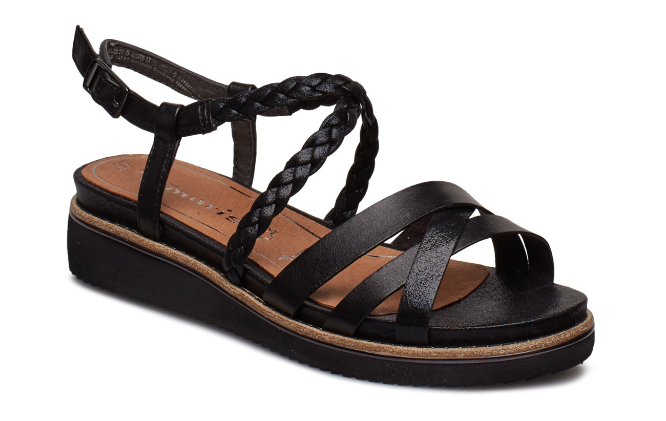 Tamaris Woms Sandals - BLACK