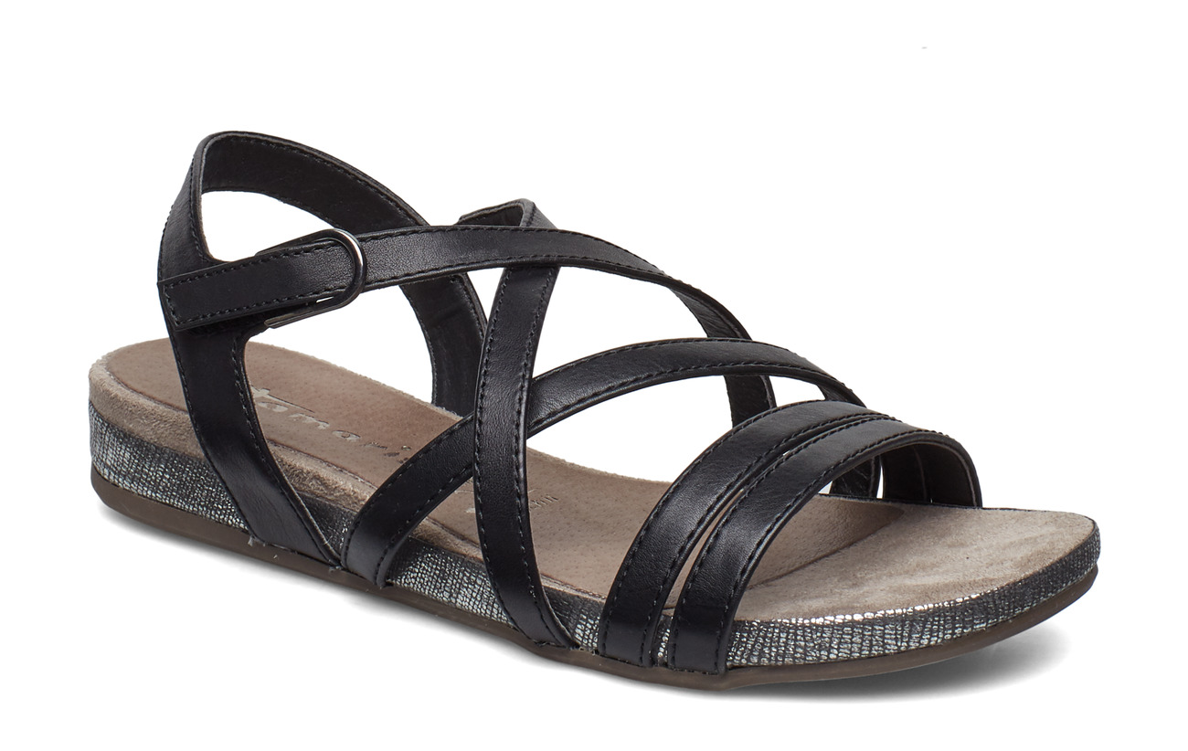 Tamaris Woms Sandals - BLACK UNI