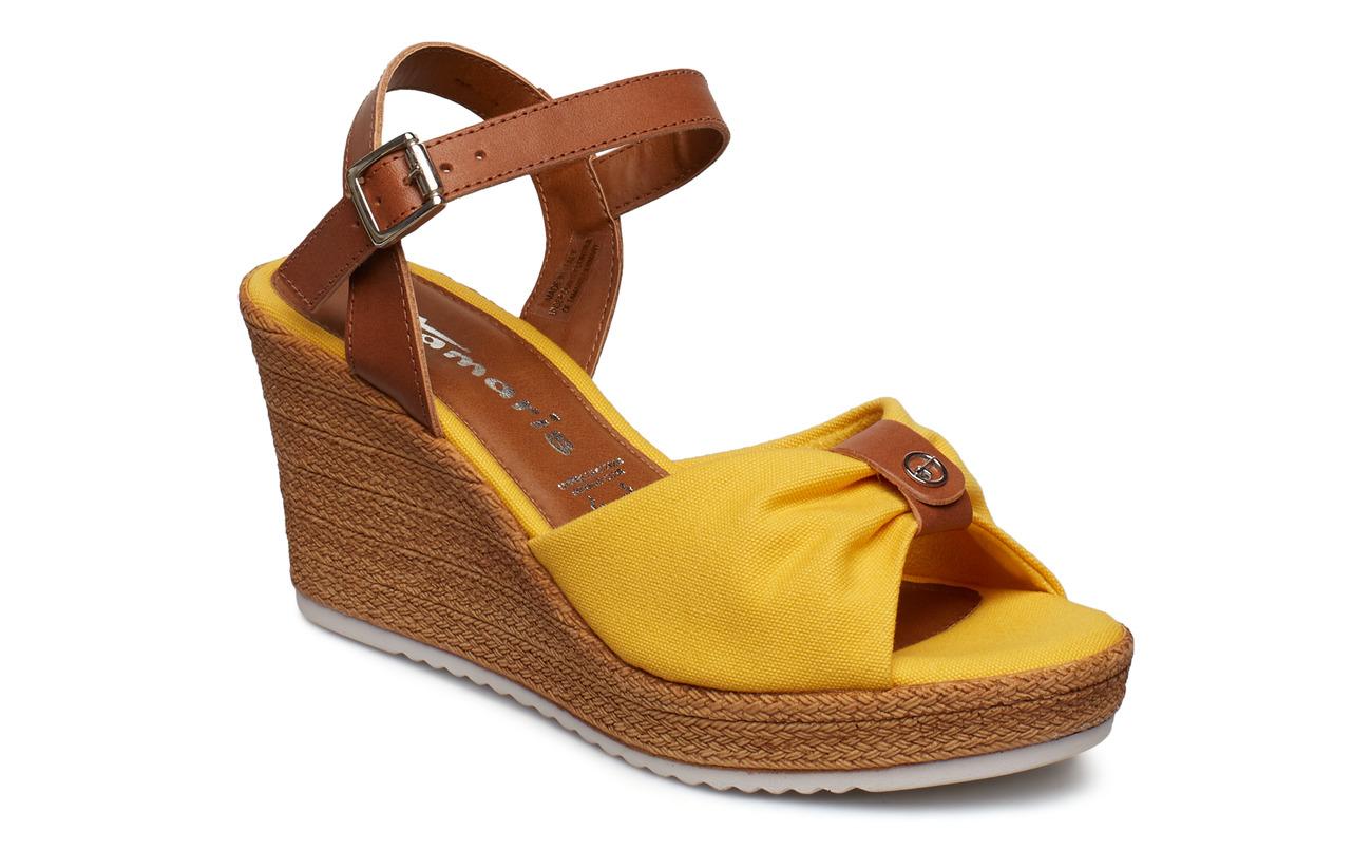 Tamaris Woms Sandals - SUN/COGNAC