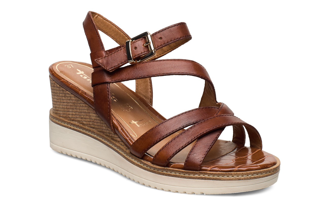 Tamaris Woms Sandals - BRANDY