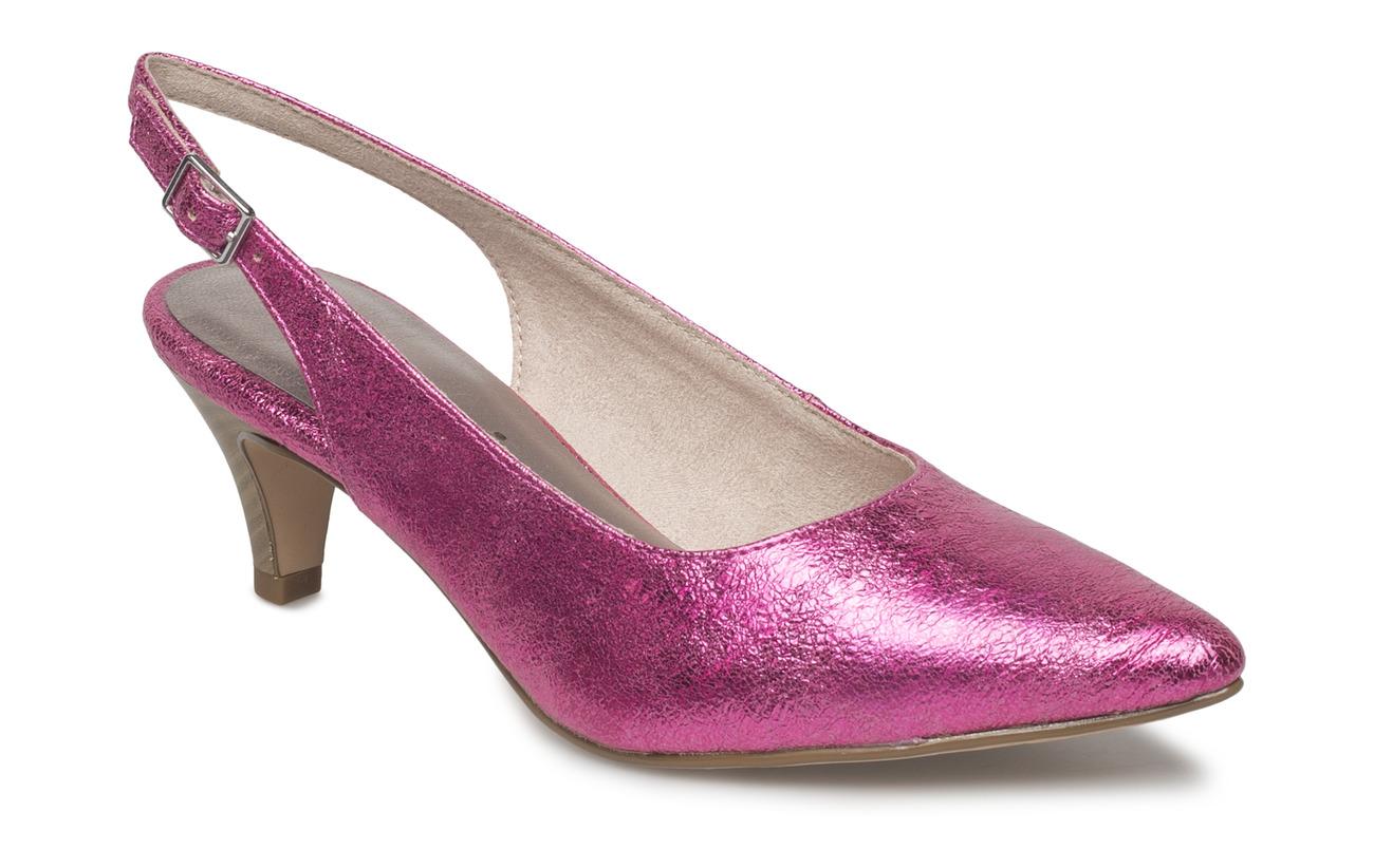 Empeigne Woms Extérieure Supérieure Crack Pink Doublure Sling Tamaris Textile Semelle Back Synthetic 1qxHn4