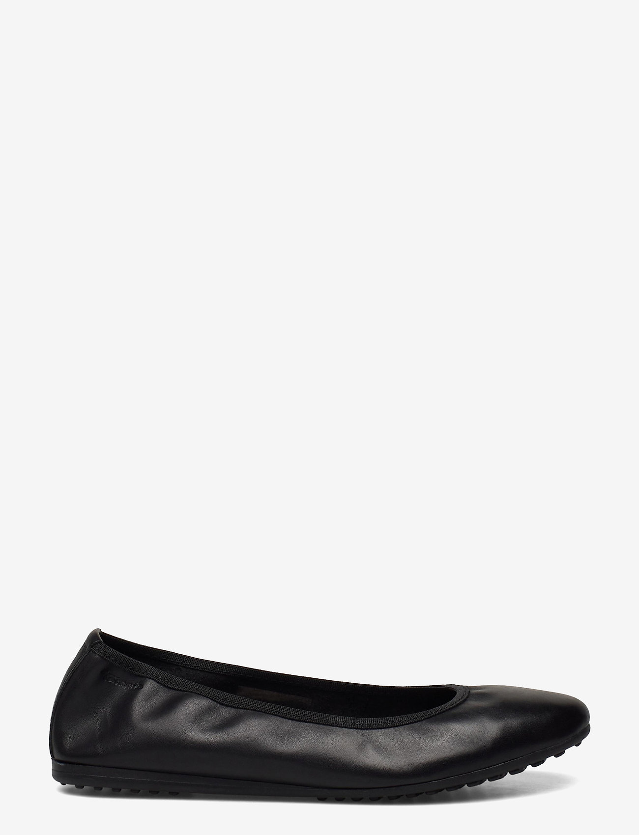 Tamaris - Woms Ballerina - ballerinas - black leather - 1