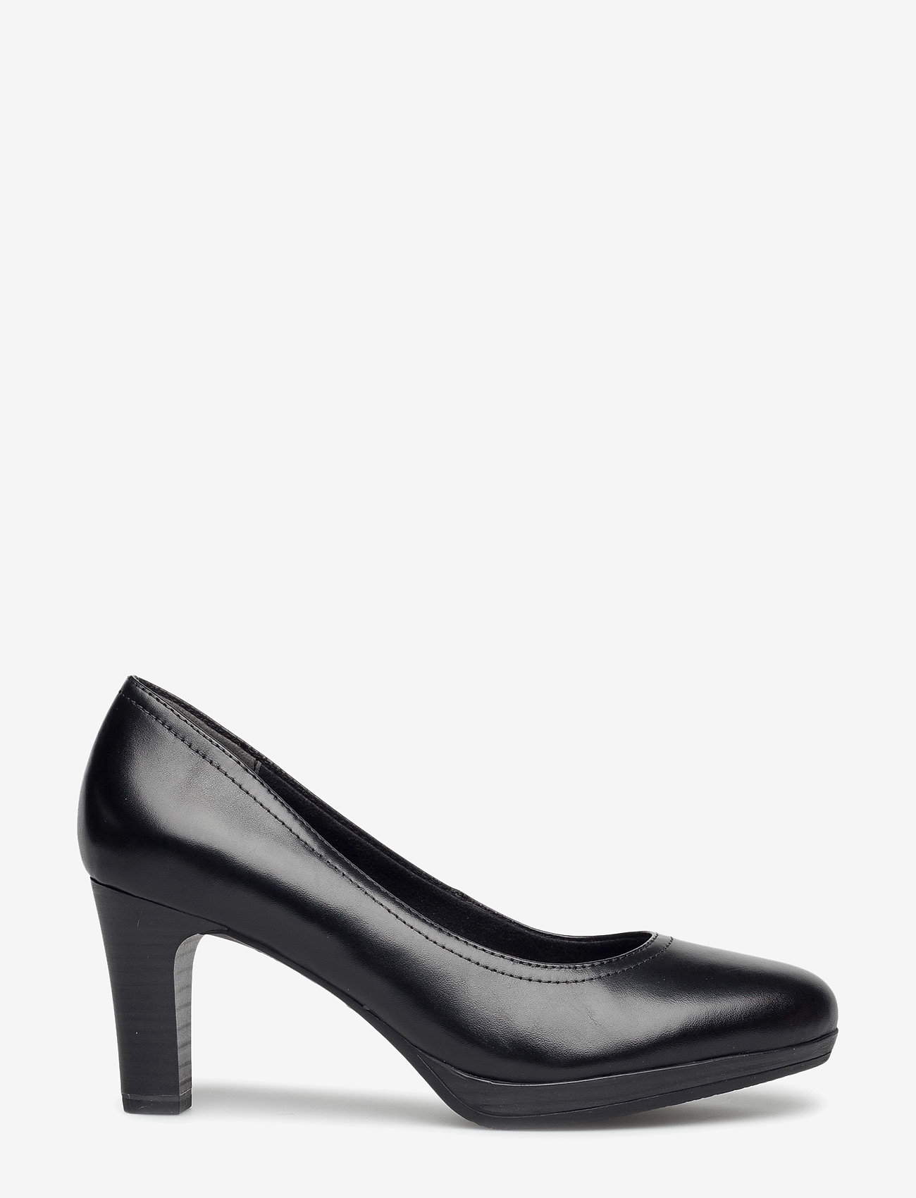 Tamaris - Woms Court Shoe - klasiski augstpapēžu apavi - black - 0