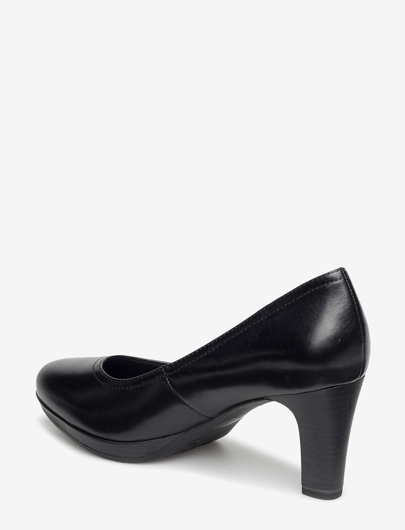 Tamaris - Woms Court Shoe - klasiski augstpapēžu apavi - black - 1