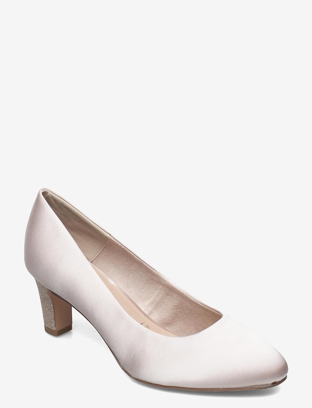 Tamaris - Woms Court Shoe - klassieke pumps - champagne comb - 0