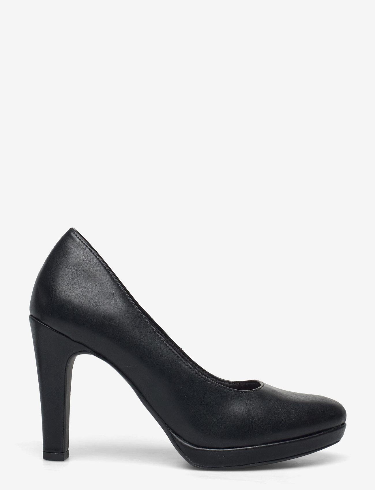 Tamaris - Woms Court Shoe - klasiski augstpapēžu apavi - black matt - 1