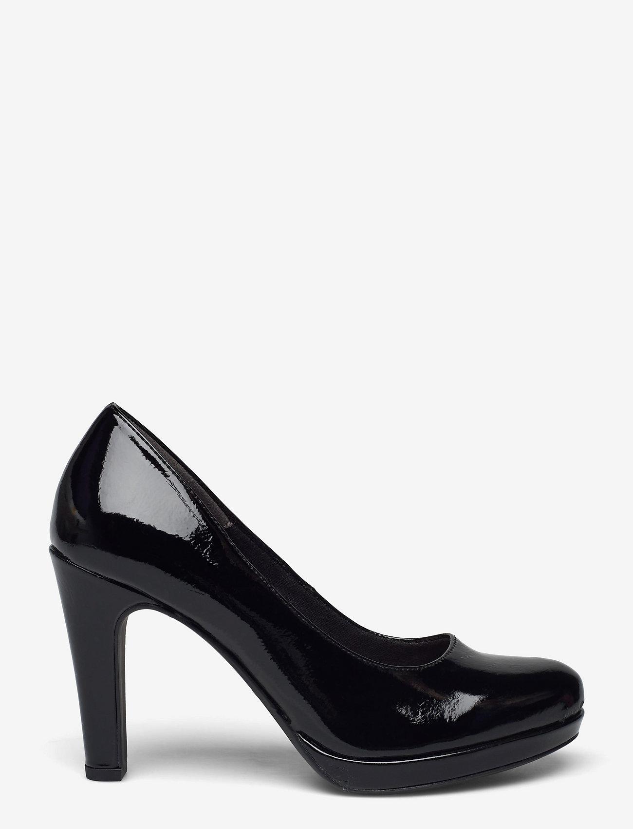 Tamaris - Woms Court Shoe - Moffen - klasiski augstpapēžu apavi - black patent - 1