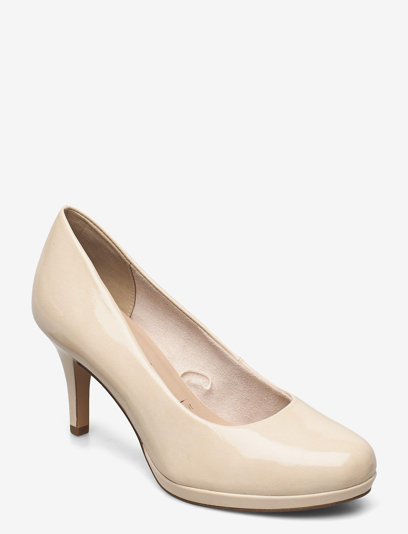 Tamaris - Woms Court Shoe - klassieke pumps - cream patent - 0