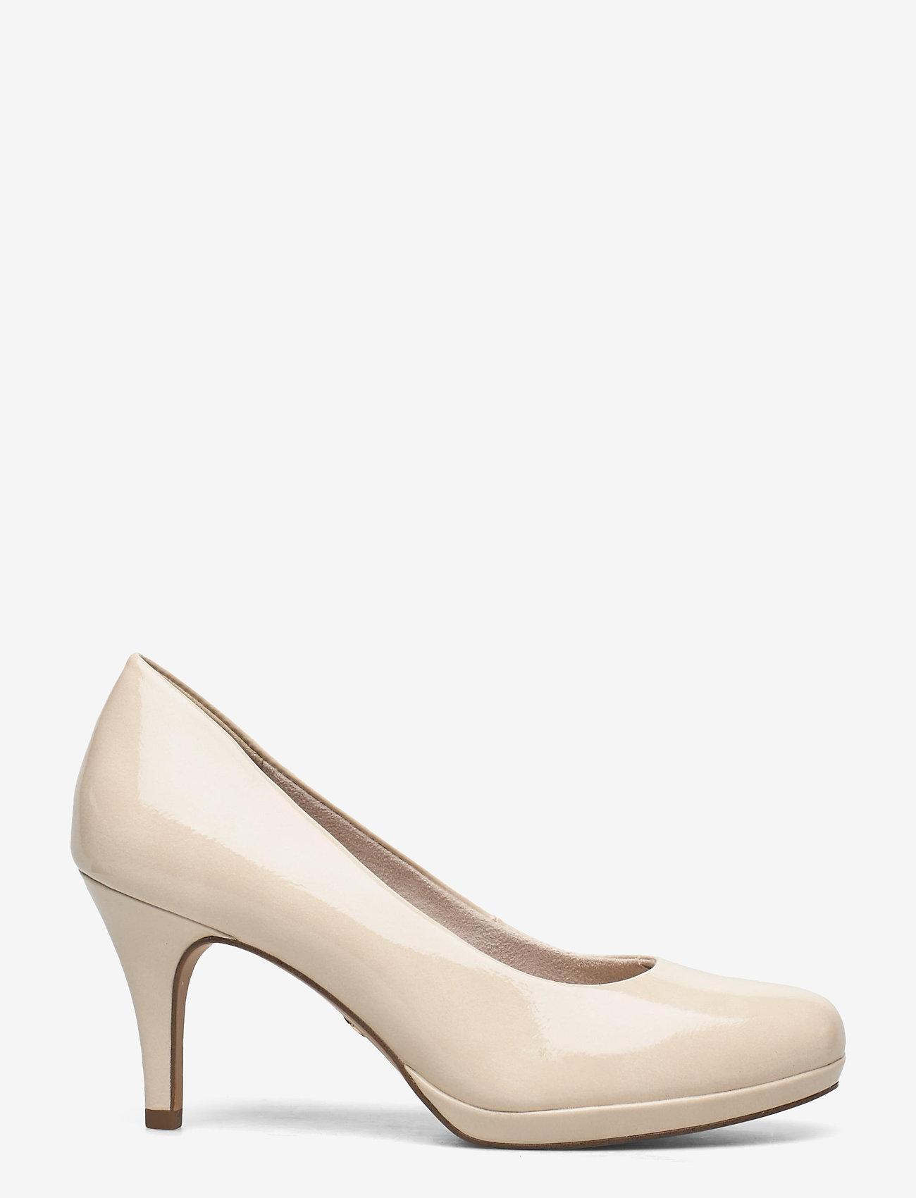 Tamaris - Woms Court Shoe - klassieke pumps - cream patent - 1