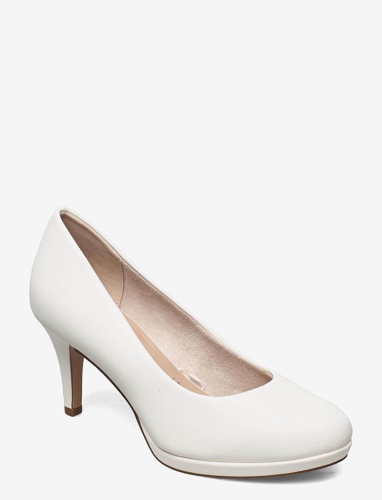Tamaris - Woms Court Shoe - klassieke pumps - white matt - 0