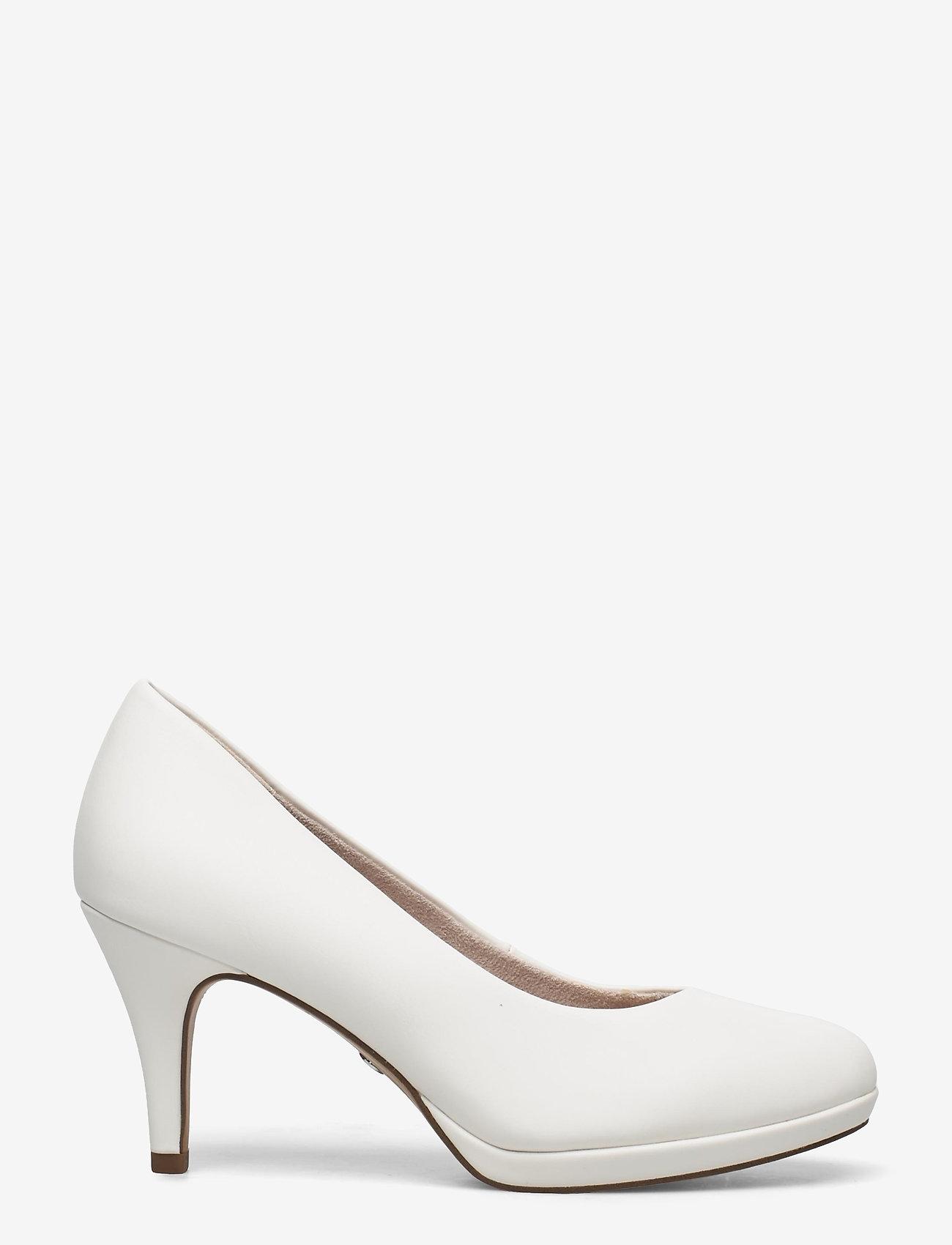 Tamaris - Woms Court Shoe - klassieke pumps - white matt - 1