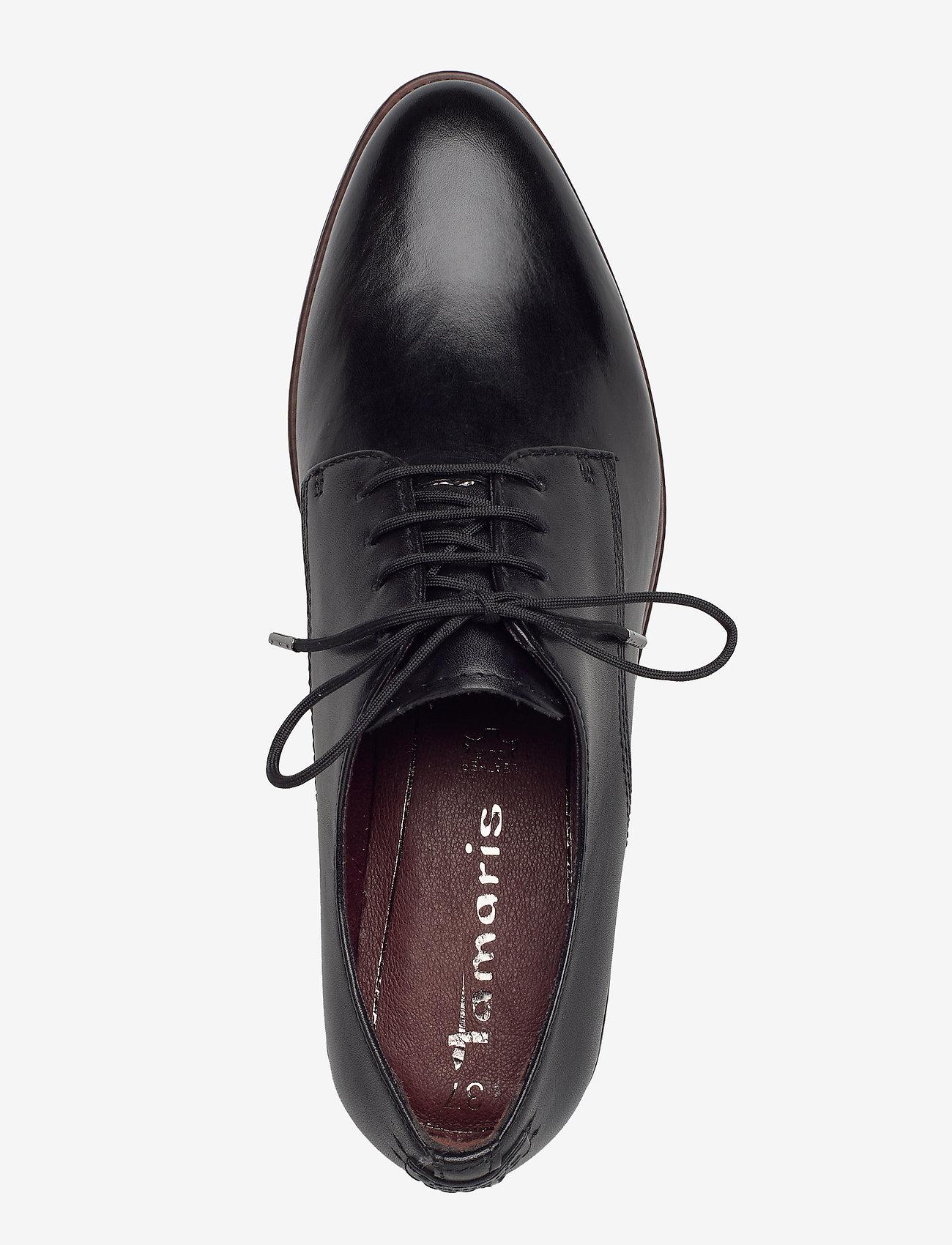 Woms Lace-up (Black Leather) (45.47 €) - Tamaris 3eBzN