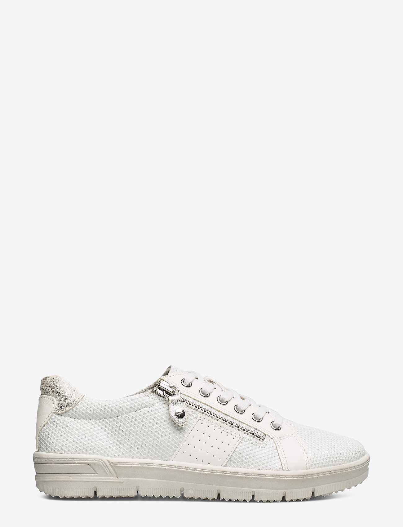 Tamaris - Woms Lace-up - sneakers med lav ankel - white comb - 1