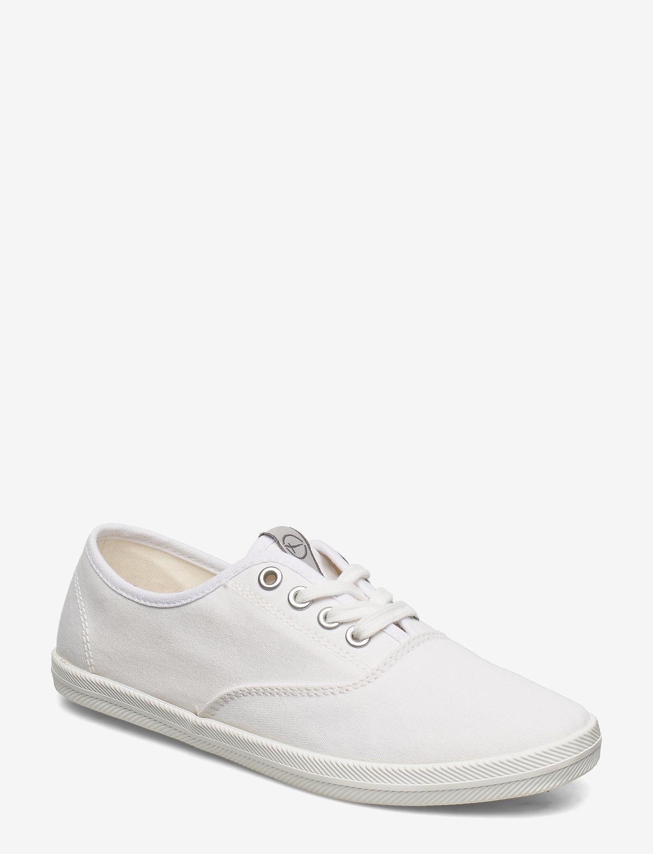 Tamaris - Woms Lace-up - låga sneakers - white - 0