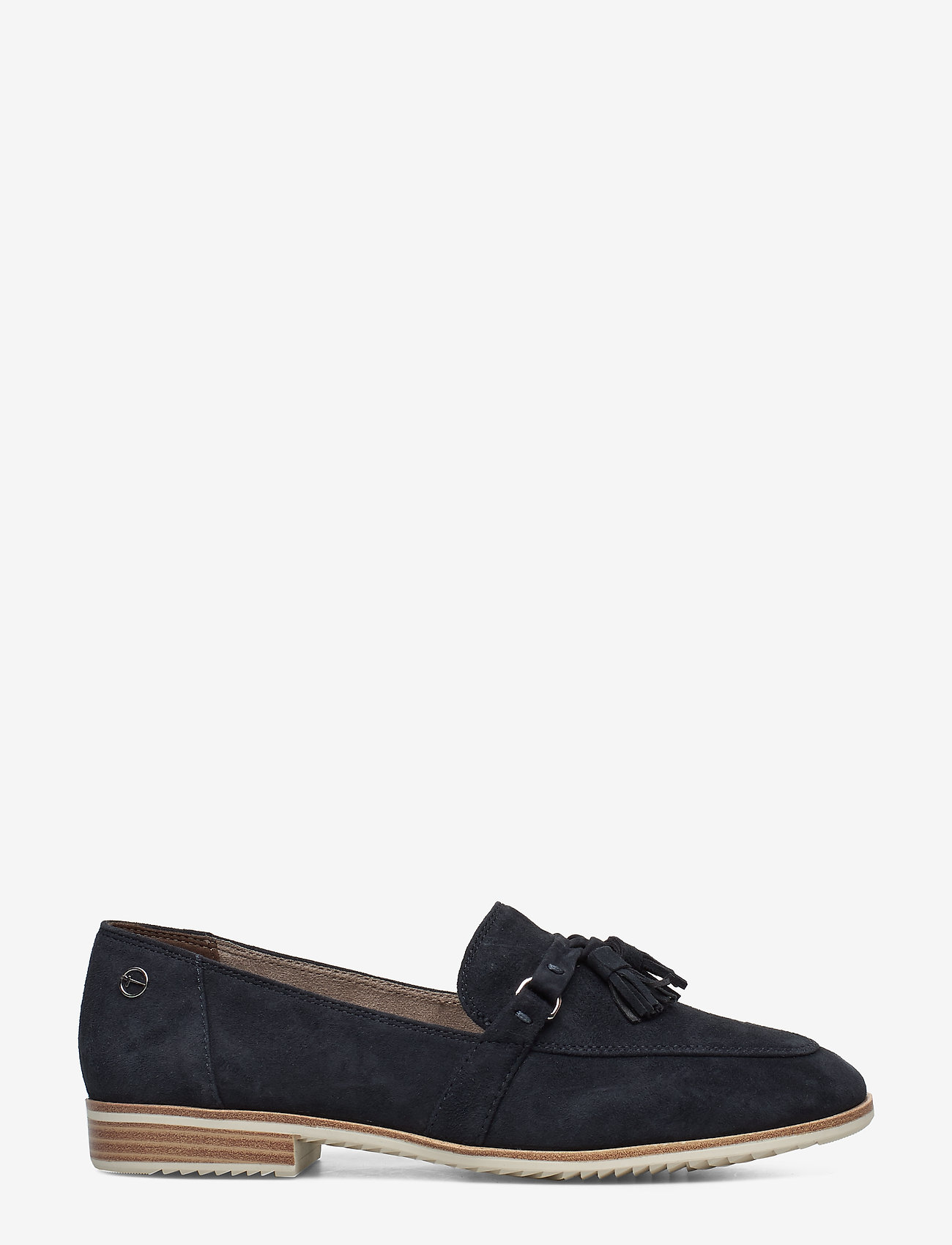 Tamaris - Woms Slip-on - loaferit - navy suede - 1