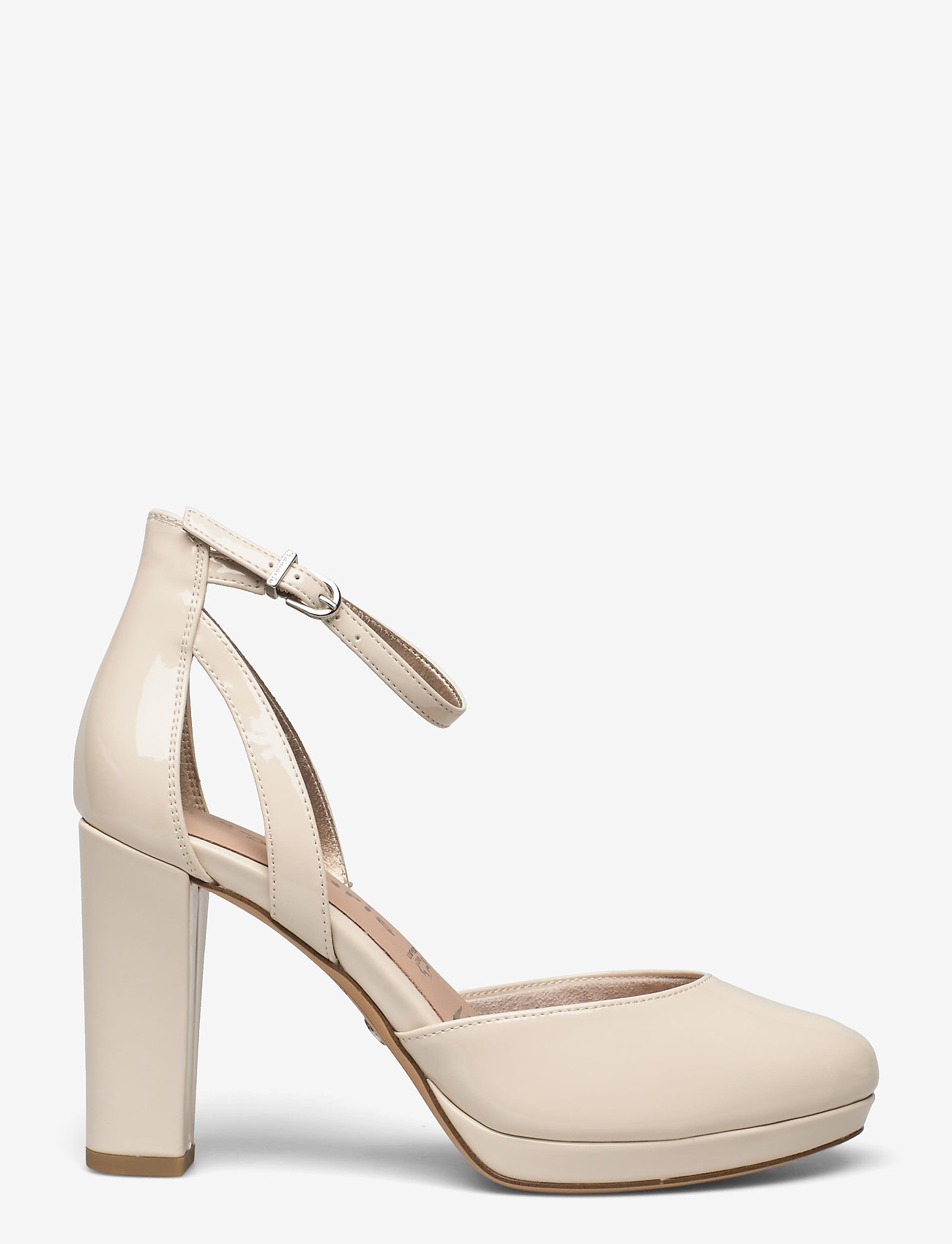 Tamaris - Woms Slip-on - klasiski augstpapēžu apavi - nude patent - 1