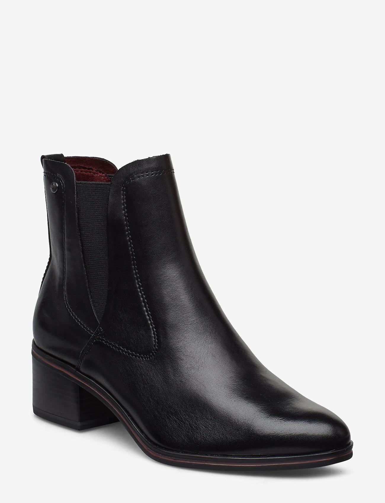Tamaris - Boots - ankelboots med klack - black - 0