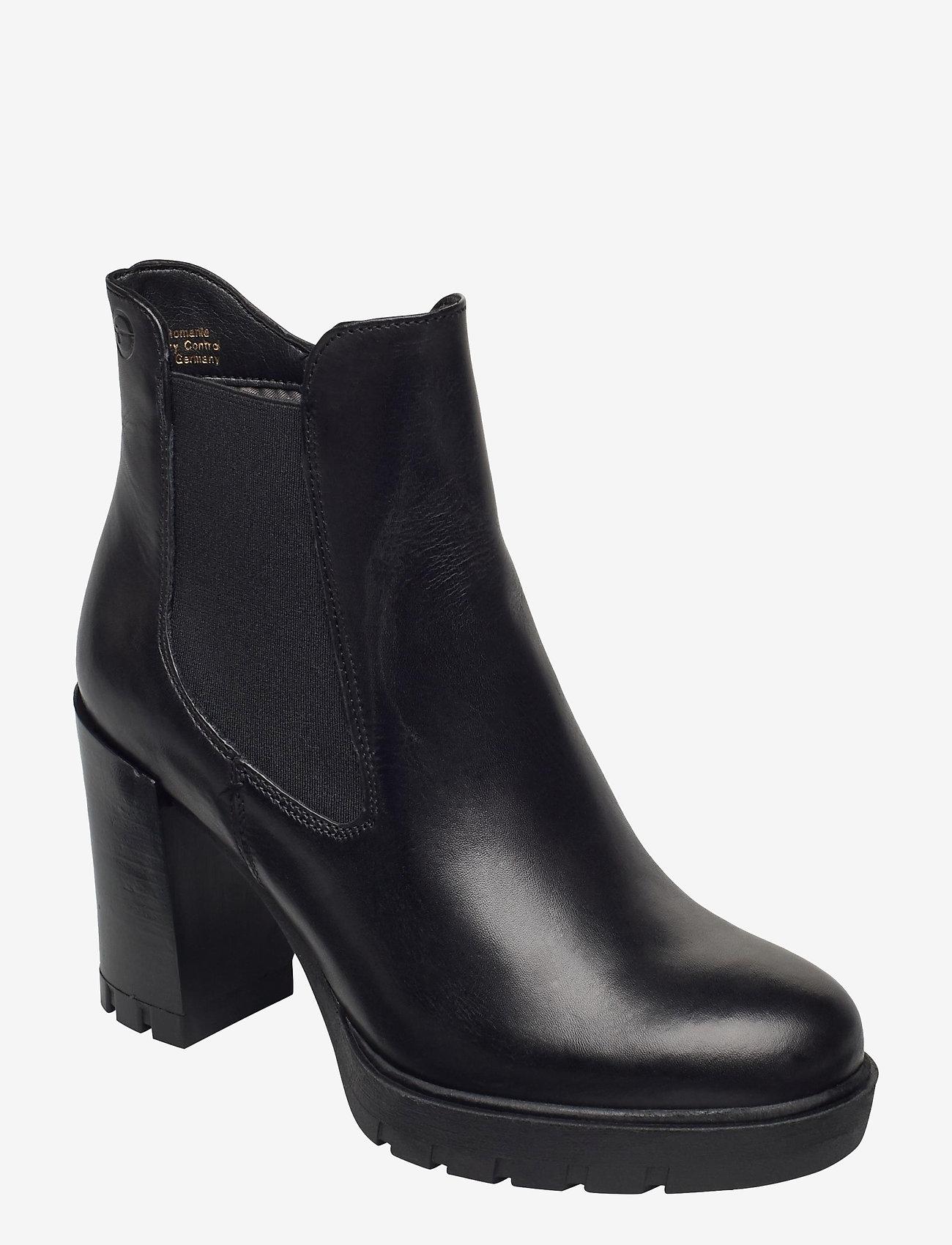 Tamaris - Woms Boots - enkellaarsjes met hak - black - 0