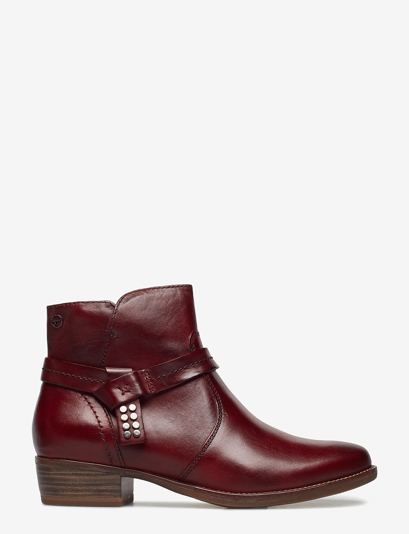Tamaris - Woms Boots - ankle boots with heel - sangria