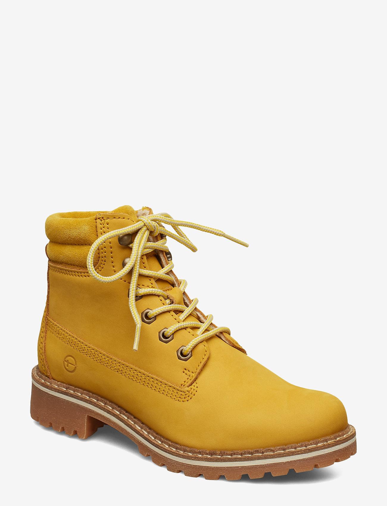 Tamaris - Boots - flache stiefeletten - saffron - 0