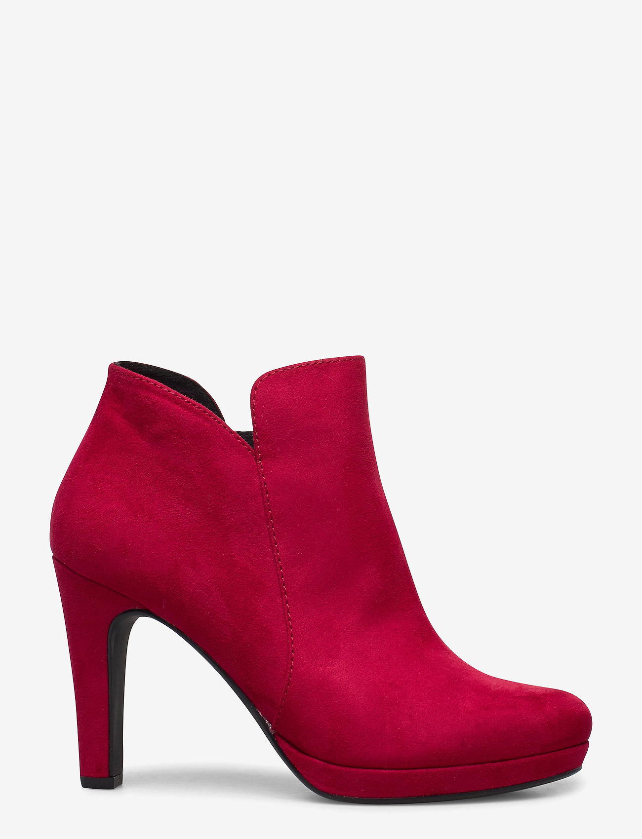 Tamaris - Woms Boots - enkellaarsjes met hak - lipstick - 1