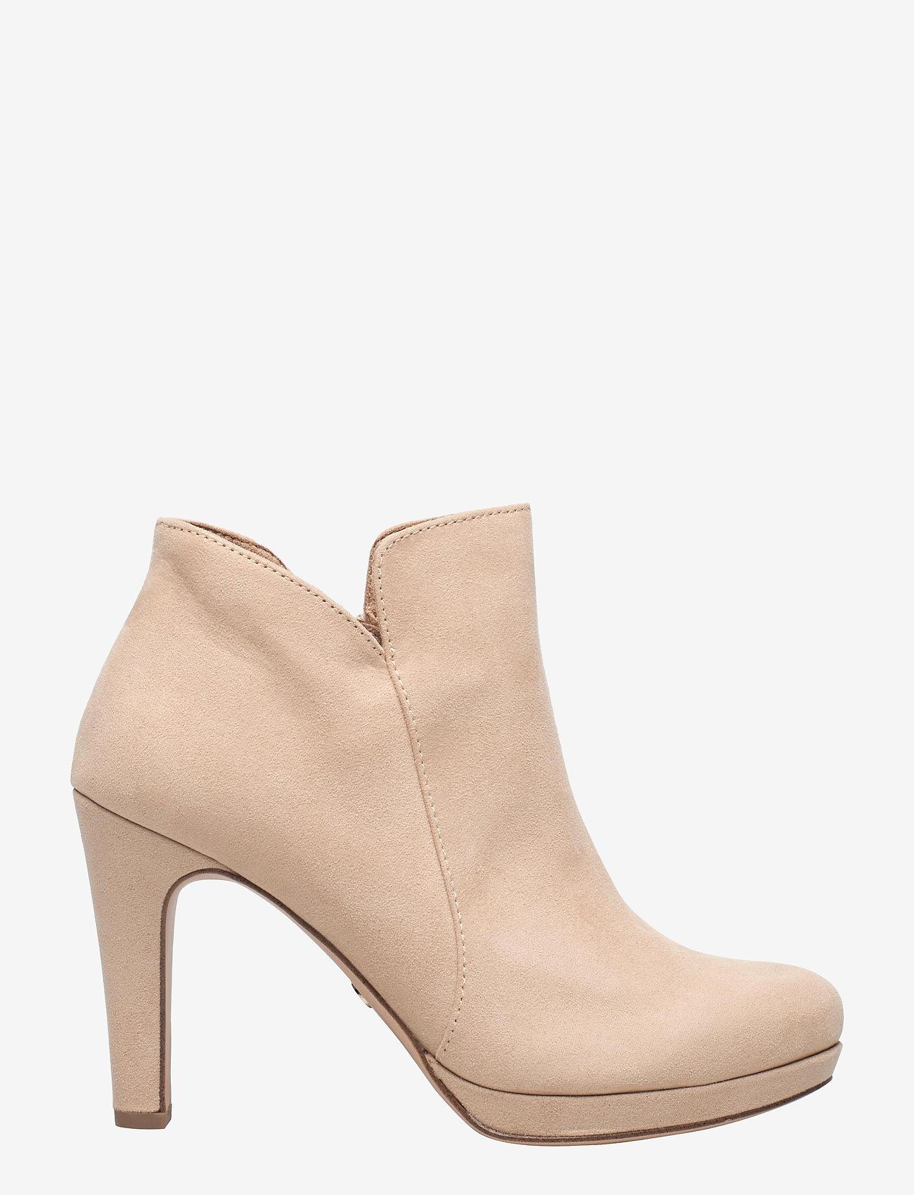 Tamaris - Woms Boots - enkellaarsjes met hak - almond - 1