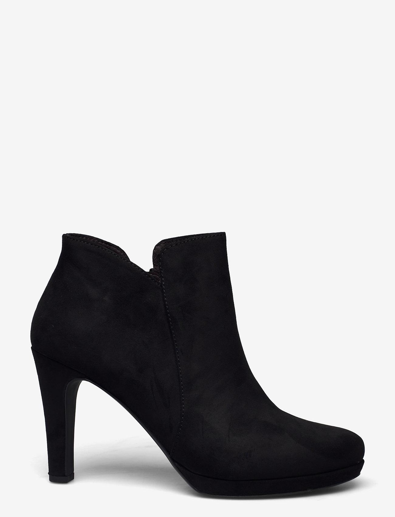 Tamaris - Woms Boots - augstpapēžu puszābaki - black - 1