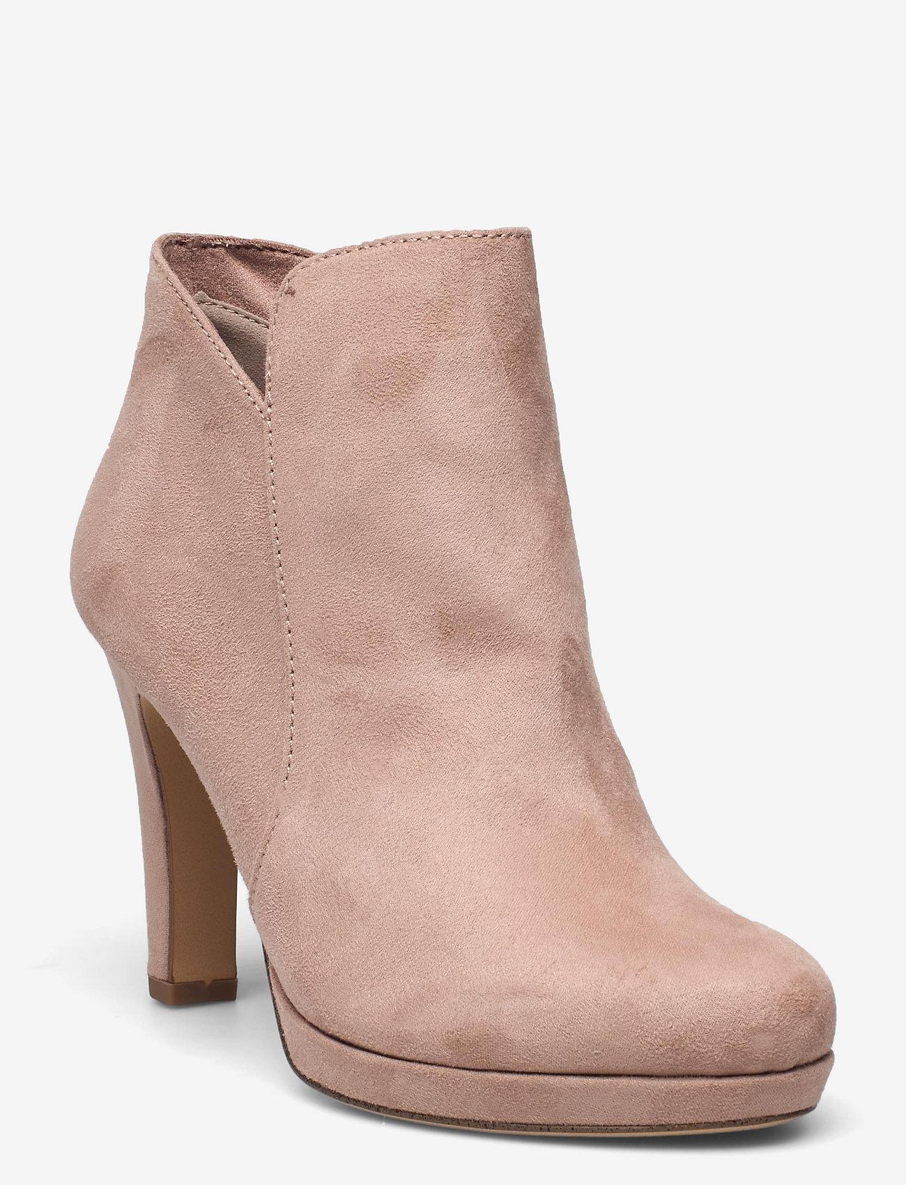 Tamaris - Woms Boots - Lycoris - augstpapēžu puszābaki - old rose - 0