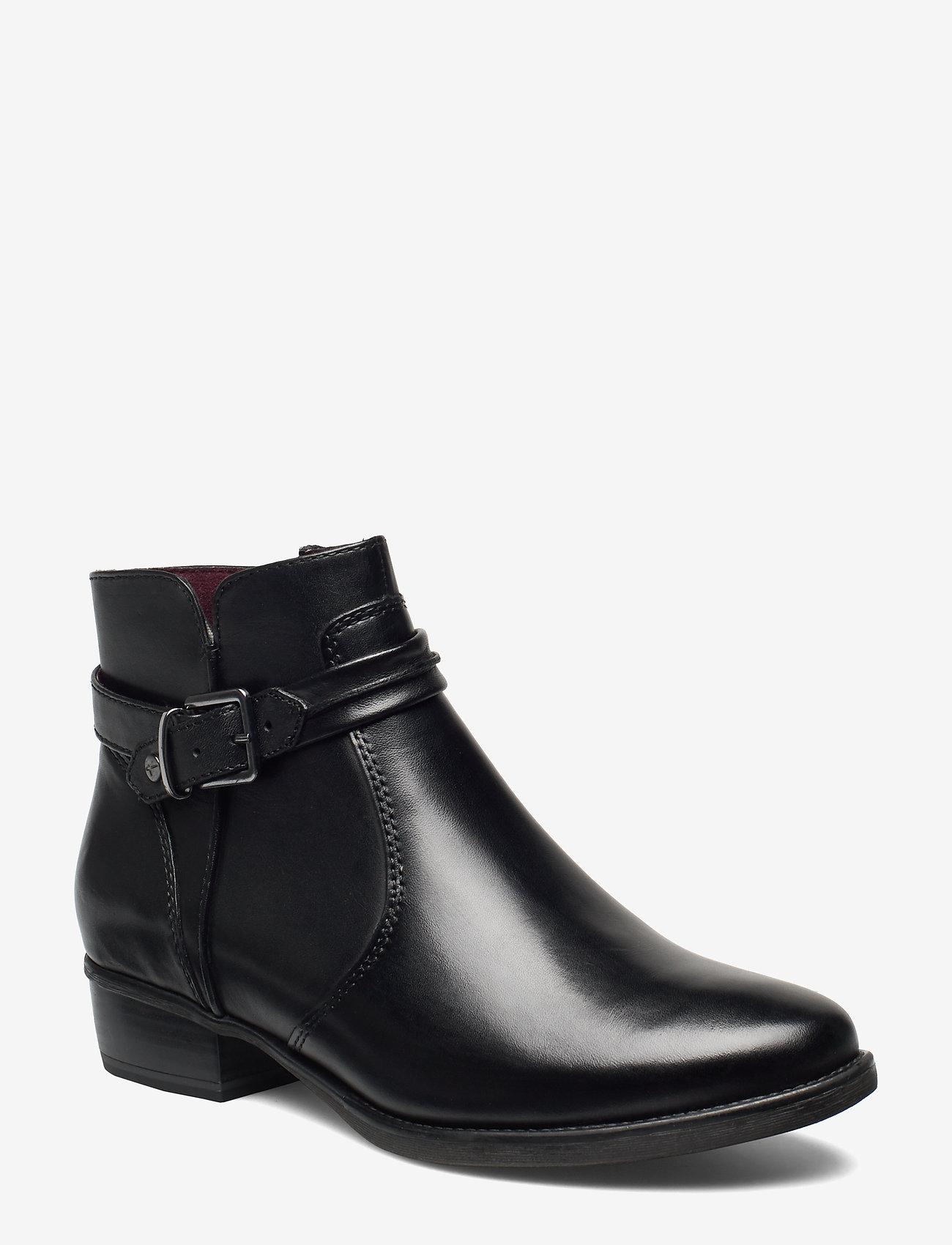 Tamaris - Boots - platta ankelboots - black - 0