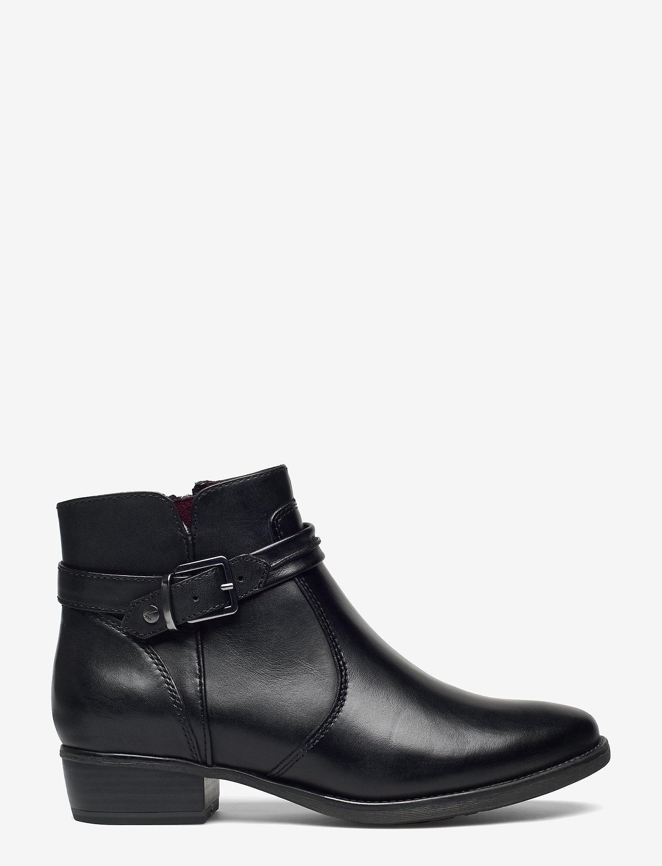 Tamaris - Boots - platta ankelboots - black - 1